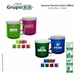 Caneca Color 300ml Personalizada