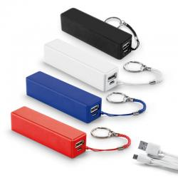 Carregador Portátil USB Power Bank 1000 mAh Personalizado