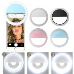 Clips Flash Selfie Ring Light: Luz de Selfie para Celular