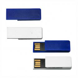 Pen Drive Clips Color - 8GB Personalizado