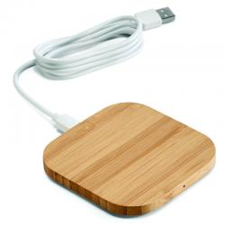 Power Bank Carregador wireless Bambu Personalizado